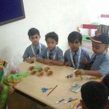 Diya Making Competition